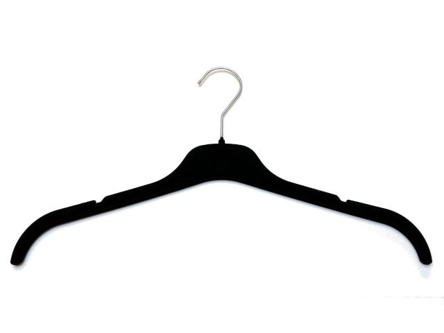 Samt Kleiderbügel