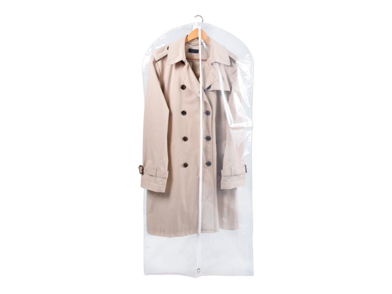 Kleiderschutzhülle transparent