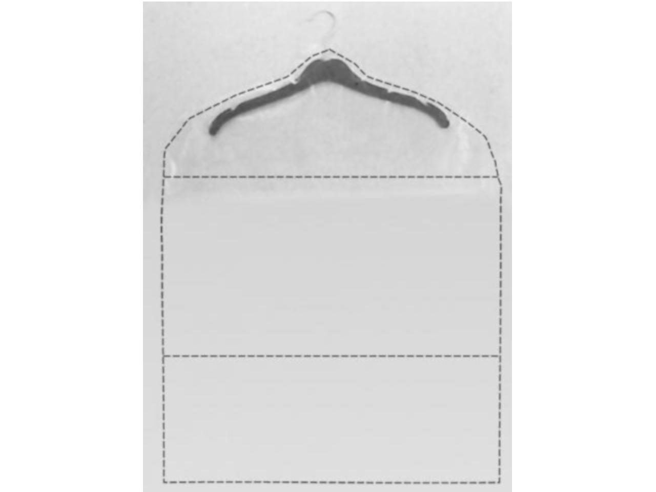 Kleiderschutzhüllen transparent