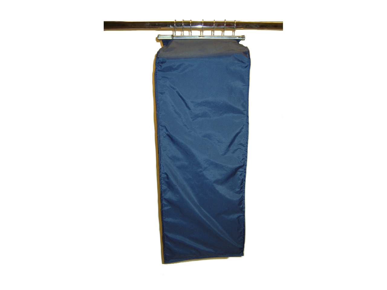 Kollektionskleidersack mit Klemmschiene Nylon