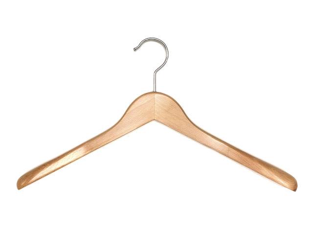 Holzkleiderbügel mit Schulter