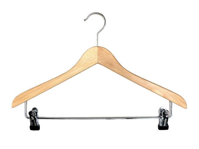 Holzkleiderbügel für Hosen