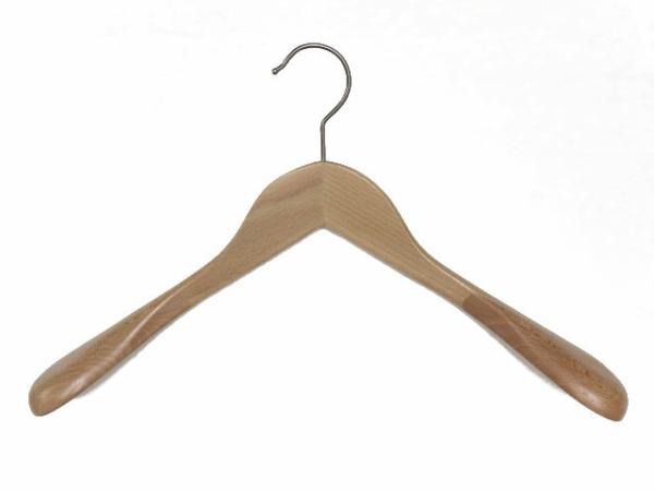 Holz Kleiderbügel mit breiten Schultern