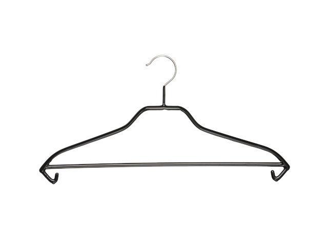 Stabiler, gummierter Kleiderbügel