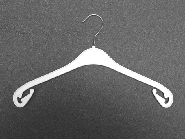 Kleiderbügel in Weiss