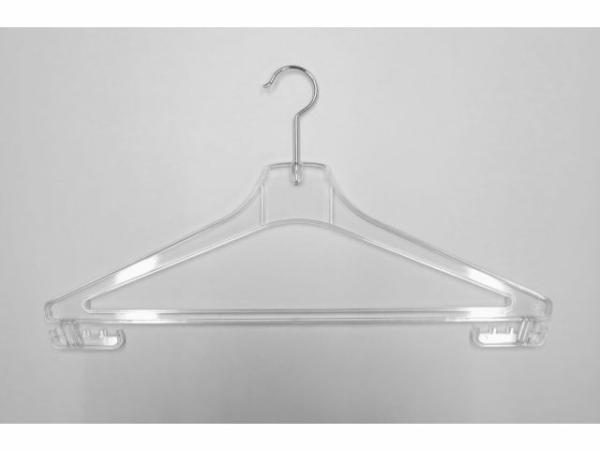 Transparenter Kleiderbügel