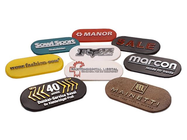 Kunststoff-Etiketten Art. ES14