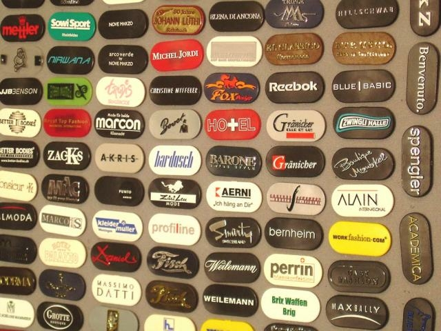 Etiketten Firmendruck