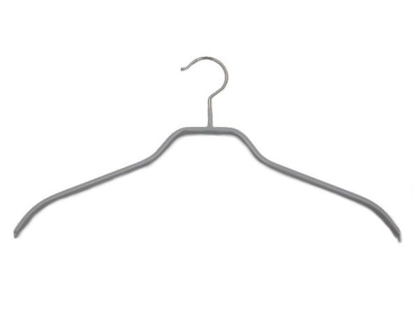 Grauer Kleiderbügel